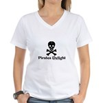 Pirates Delight Women's V-Neck T-Shirt