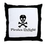 Pirates Delight Throw Pillow