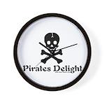 Pirates Delight Wall Clock