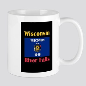 River Falls Wisconsin Mugs