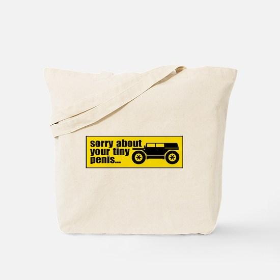 Giant SUV Tote Bag