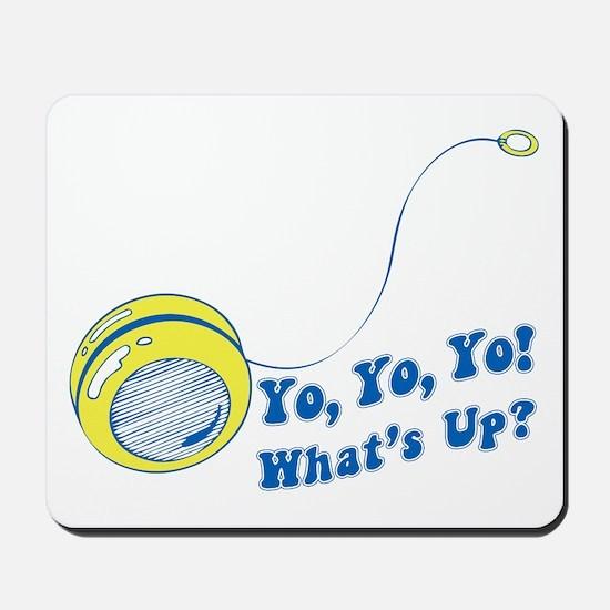 Yo Yo Yo Cheesy Retro Mousepad
