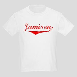 Jamison Vintage (Red) Kids Light T-Shirt