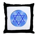 Star Of Yaakov Throw Pillow