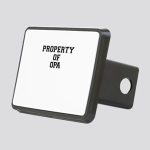 Property of OPA Rectangular Hitch Cover