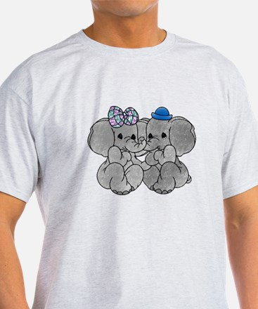 Elephants in Love T-Shirt