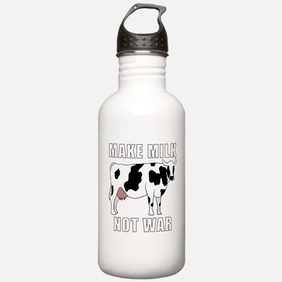 Make Milk Not War Water Bottle