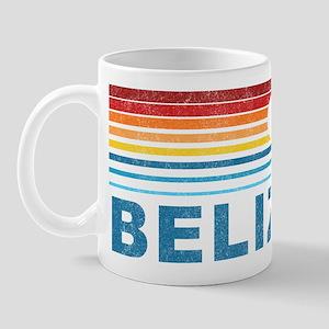 Retro Belize Palm Tree Mug