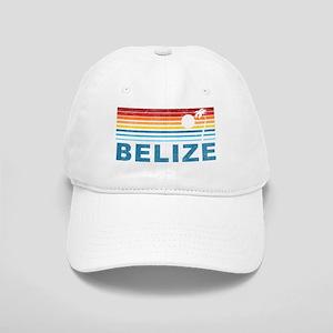 Retro Belize Palm Tree Cap