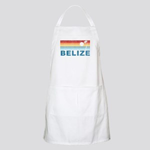 Retro Belize Palm Tree BBQ Apron