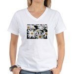 There is Hope Women's V-Neck T-Shirt