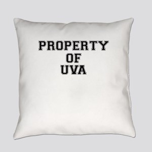 Property of UVA Everyday Pillow