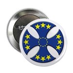 "European Union Biker Cross 2.25"" Button"