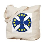 European Union Biker Cross Tote Bag