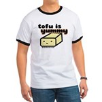 tofu is yummy Ringer T
