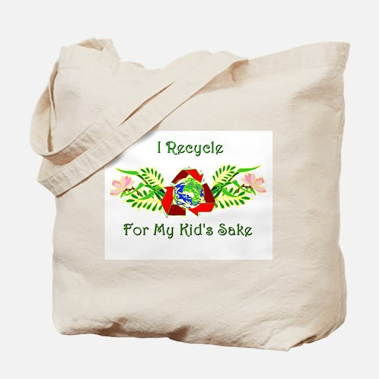 I recycle... Tote Bag