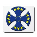 European Union Biker Cross Mousepad