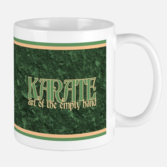 Cute Karate empty hands Mug