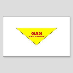 GAS Rectangle Sticker