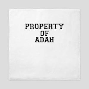 Property of ADAH Queen Duvet