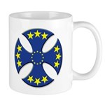 European Union Biker Cross Coffee Cup