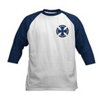 European Union Biker Cross Kids Baseball Jersey