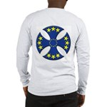 European Union Biker Cross Long Sleeve T-Shirt