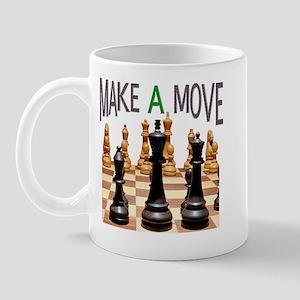 MAKE A MOVE CHESS 1 Mug