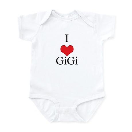 I Love (Heart) GiGi Infant Bodysuit