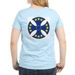 European Union Biker Cross Women's Light T-Shirt