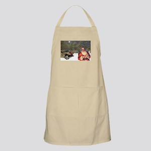 Military Silent Night BBQ Apron