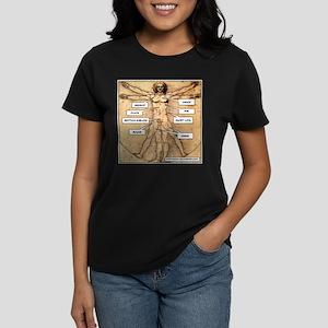 Da Vinci Meat Women's Dark T-Shirt