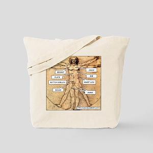 Da Vinci Meat Tote Bag