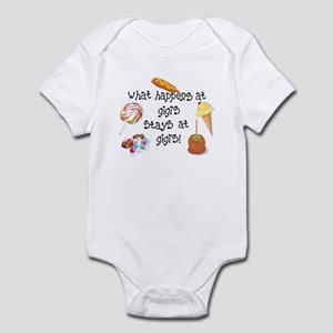 What Happens at Gigi's... Funny Infant Bodysuit