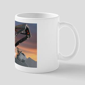 Stealth Pilot Santa Mug
