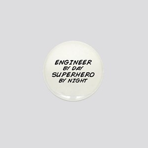 Engineer Day Superhero Night Mini Button