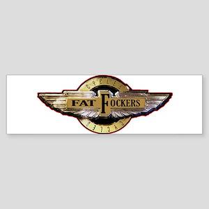 Fat Fockers Wings Bumper Sticker