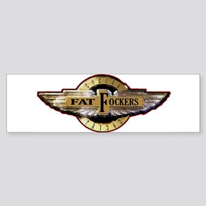 Fat Fockers Wings Bumper Sticker