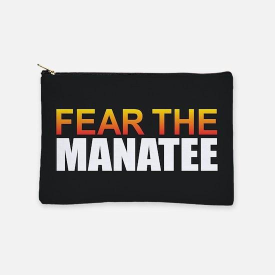 Fear the Manatee Makeup Bag