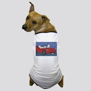 Westie Santa Cruizers Dog T-Shirt