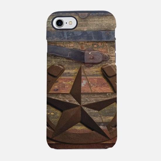 western horseshoe texas star iPhone 8/7 Tough Case