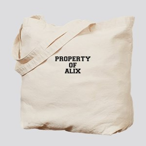 Property of ALIX Tote Bag