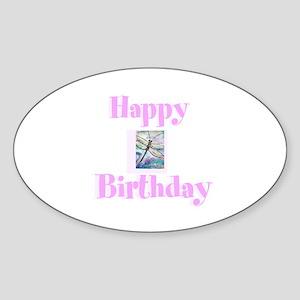 Happy birthday, dragonfly Sticker