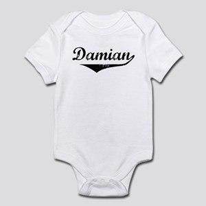 Damian Vintage (Black) Infant Bodysuit