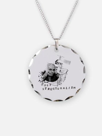 Unique Philosopher Necklace Circle Charm