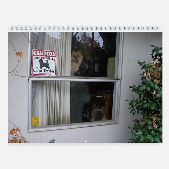 Sweet Cairn Terriers Wall Calendar