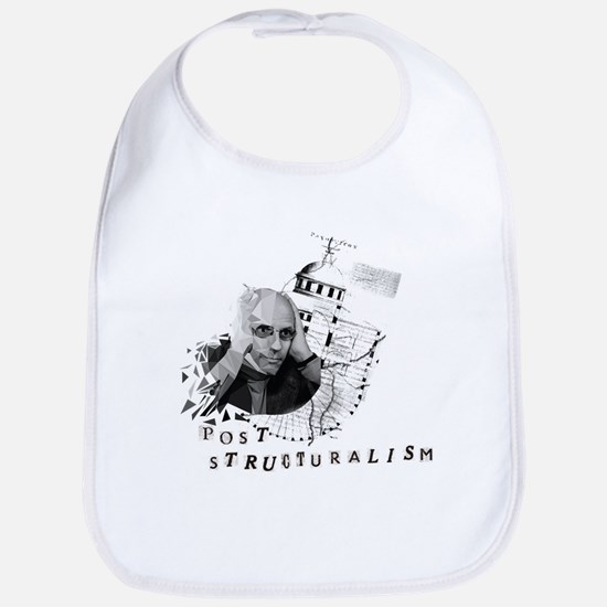 Foucault vs. Post-structuralism Baby Bib