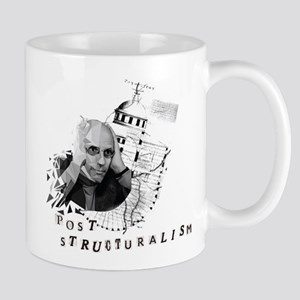 Foucault vs. Post-structuralism Mugs