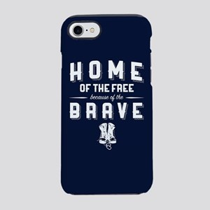 Home of the Free Blue iPhone 8/7 Tough Case