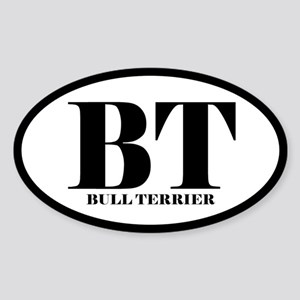 BT Abbreviated Bull Terrier Sticker